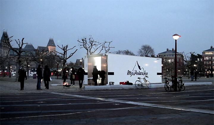 MyPolarIce® Store - Amsterdam Museum Square 2010